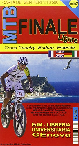 9788896107775: MTB-7 Finale Ligure. Carte dei sentieri di Liguria per mountain bike MTB VTT