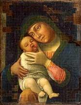 9788896157039: Andrea Mantegna e la creazione iconografica, Madonna della tenerezza con il bambino sognante. Ediz. italiana e inglese