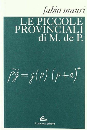 Le piccole provinciali di M. de P.: Fabio Mauri
