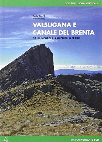 Valsugana e canale del Brenta. 45 escursioni e 5 percorsi a tappe.: Bonetti, Paolo Rocca, Marco