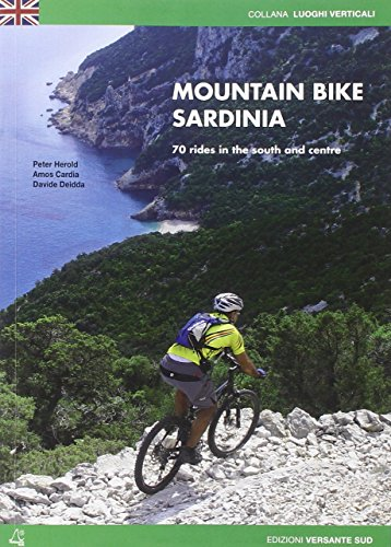 9788896634448: Mountain bike in Sardinia. 70 rides in the south and the centre
