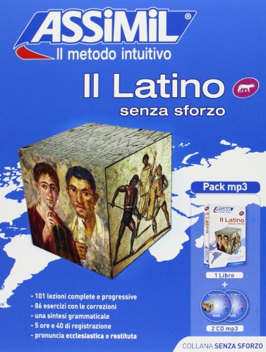 9788896715185: Il latino senza sforzo. Con 2 CD Audio formato MP3