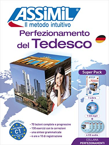 9788896715277: Assimil Perfezionamento del tedesco. Con 4 CD Audio e 1 CD Audio formato MP3 (German Edition)