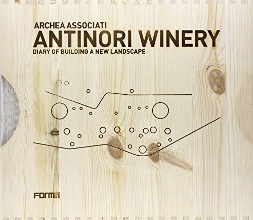 9788896780398: Antinori Winery. Diary of building a new landscape. Con DVD