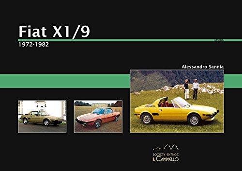 9788896796306: Fiat X1/9. 1972-1982 (Historica)
