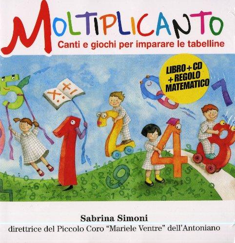 9788896981825: Moltiplicanto (Libro+CD)