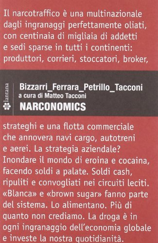 9788897012092: Narconomics