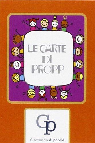 9788897027027: Le carte di Propp