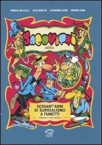 9788897141099: Jacovitti. Sessant'anni di surrealismo a fumetti
