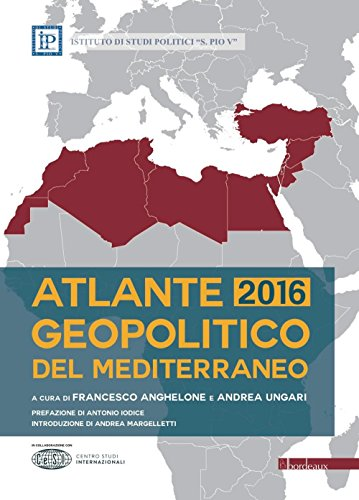 9788897236986: Atlante geopolitico del Mediterraneo 2016