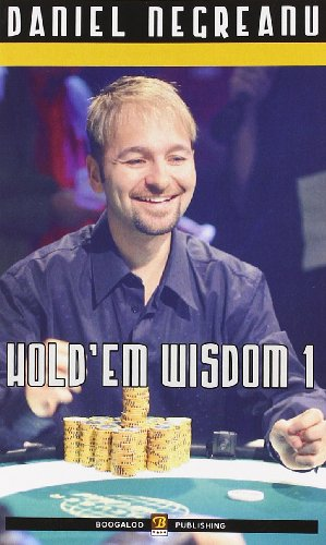 Hold'em wisdom vol. 1 (889725764X) by Daniel. Negreanu