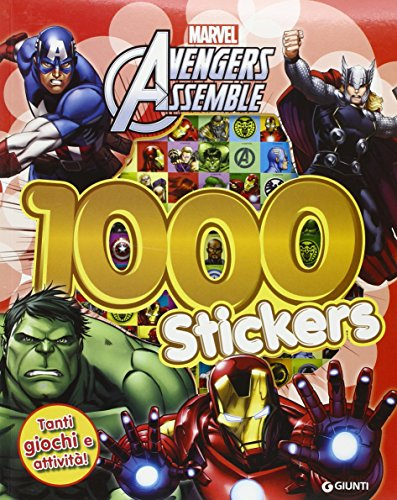 9788897266914: Avengers assemble. 1000 stickers. Con adesivi. Ediz. illustrata