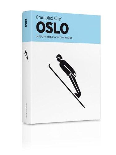 Oslo Crumpled City Map: PALOMAR Srl