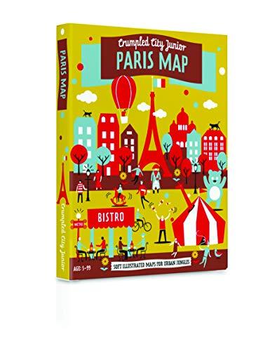 9788897487135: Crumpled City Junior Paris Map