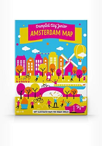 9788897487159: Crumpled City Junior Amsterdam Map