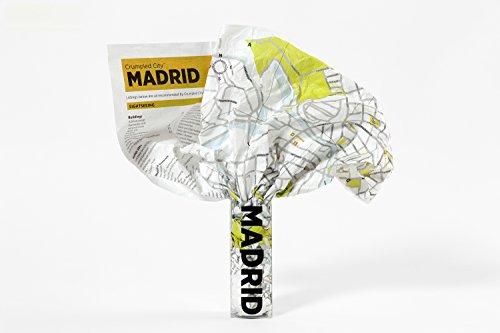 9788897487166: Madrid Crumpled City Map