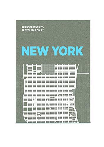 9788897487500: PALOMAR - Carte transparente de la ville de NY