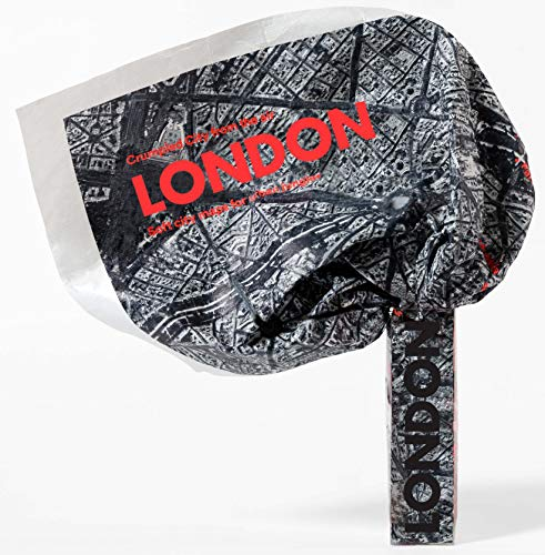 9788897487616: London Crumpled City From The Air (Crumpled City Maps)