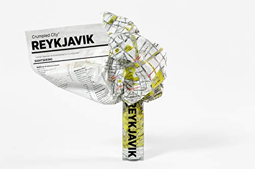 9788897487685: Reykjavik Crumpled City Map (Crumpled City Maps)