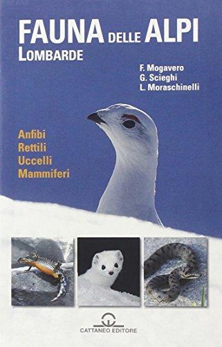 9788897594093: La fauna delle Alpi Lombarde. Anfibi, rettili, uccelli, mammiferi
