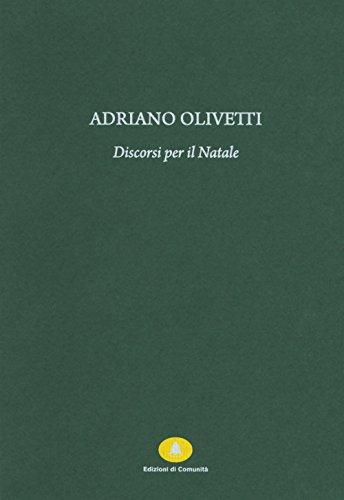 Discorsi per il Natale (Paperback): Adriano Olivetti