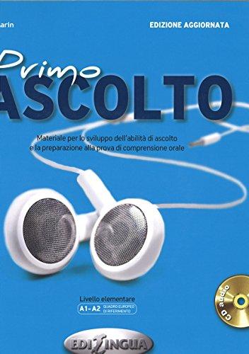 9788898433261: Primo Ascolto, Libro dello studente m. Audio-CD + codice i-d-e-e