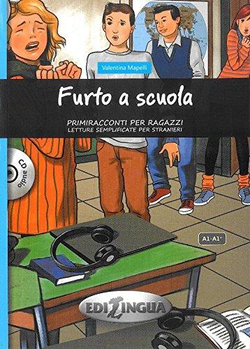 9788898433292: Primiracconti per ragazzi: Furto a scuola + CD audio (A1/A1+)
