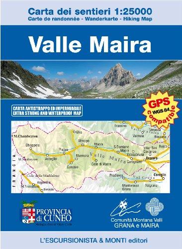 9788898520107: Valle Maira 1:25.000. Mappa escursionistica