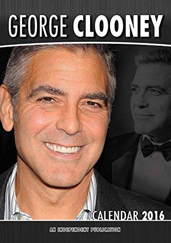 9788898521494: George Clooney Calendar - 2016 Wall Calendars - Celebrity Calendars - Monthly Wall Calendar by Dream International