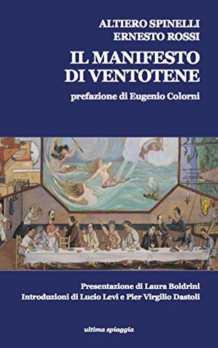 9788898607136: Il Manifesto di Ventotene-The Ventotene Manifesto (Granelli di sabbia)
