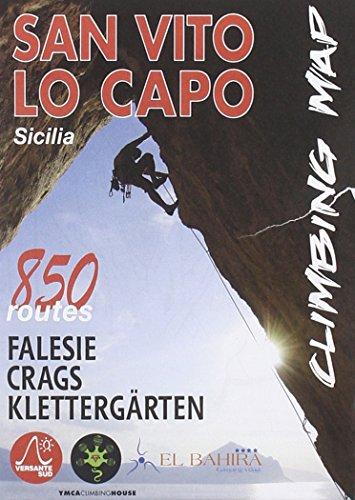 9788898609260: San Vito Lo Capo climbing map. 850 vie. Ediz. italiana, inglese e tedesca (Luoghi verticali)