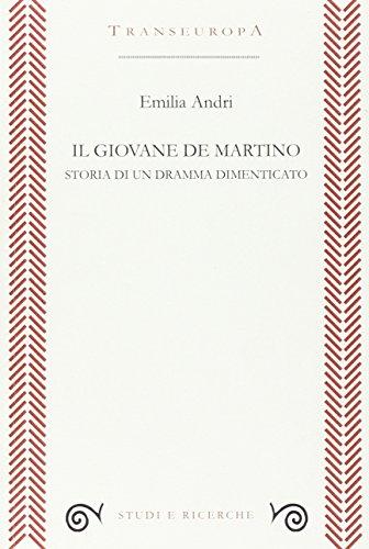 9788898716180: Il giovane De Martino. Storia di un dramma dimenticato