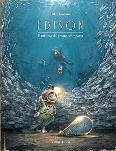 9788899064921: Edison. Il mistero del tesoro scomparso. Ediz. a colori
