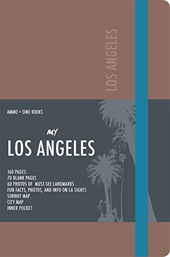 9788899180294: Los Angeles Visual Notebook: Autumn Brown