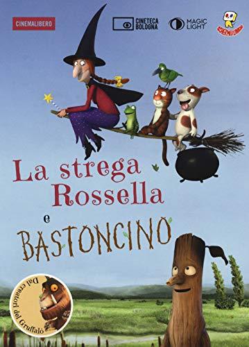 9788899196608: La strega Rossella-Bastoncino. DVD. Con libro