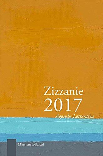 9788899423520: Zizzanie. Agenda letteraria 2017