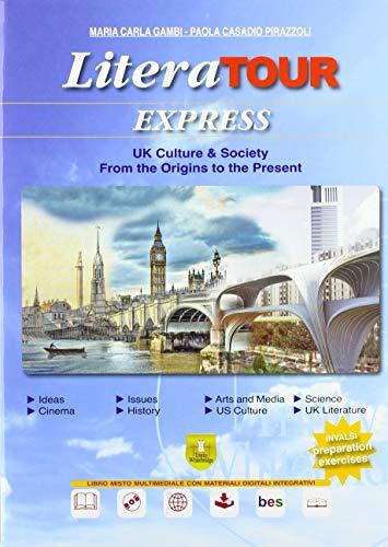 9788899673239: Literatour express. Con DVD [Lingua inglese]