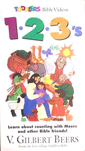 9788900880564: 1-2-3's (Toddlers Bible Video) [VHS]