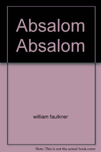 9788930704540: Absalom Absalom