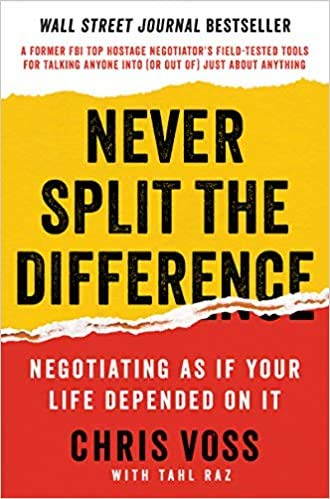 9788932319667: NEVER SPLIT THE DIFFERENCE (Never Split the Difference 9780062407801)