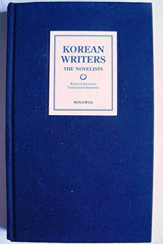9788937425424: Korean Writers: The Novelists