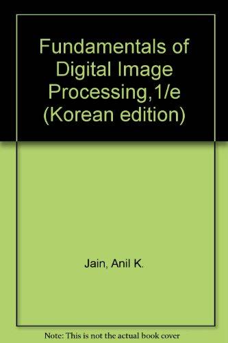 9788945000200: Fundamentals of Digital Image Processing,1/e (Korean edition)