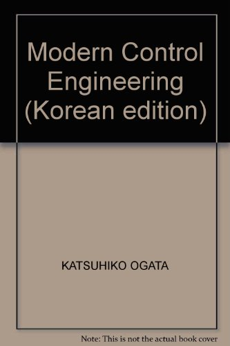 9788945001436: Modern control Engineering