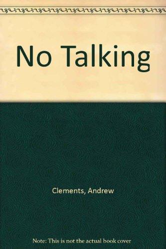 9788949121277: No Talking (Korean Edition)
