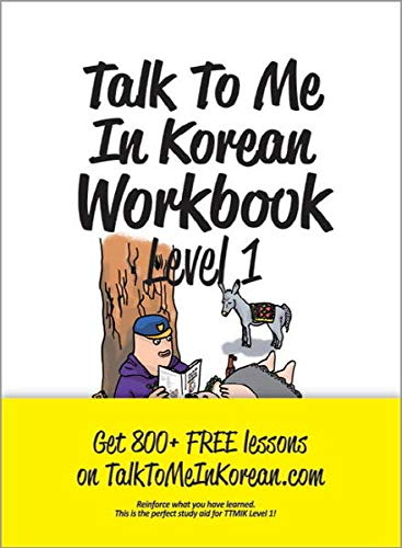 9788956056883: Talk To Me In Korean Workbook Level 1(Downloadable Audio Files Included)