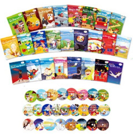 9788956356044: Phonics Fun Readers (Boxed Set of 25 Books and CDs)