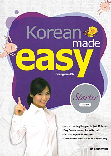 Korean Made Easy (Starter with MP3 CD): Oh, Seung-eun
