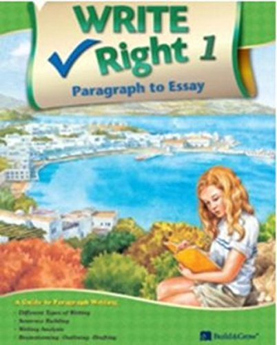 9788959977154: Write Right Paragraph to Essay. 1 (Korean edition)