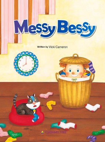 9788966294060: Messy Bessy (Caramel Tree Readers Level 1)