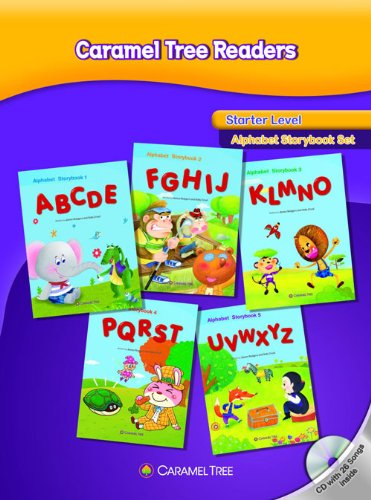 9788966298037: Starter Level Alphabet Storybook Set (Caramel Tree Readers Starter Level)
